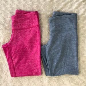 Lululemon Cropped Pants Size 4 Heathered Pink